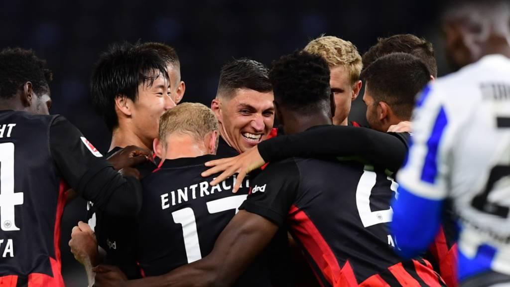 Eintracht reagiert mit Sieg in Berlin