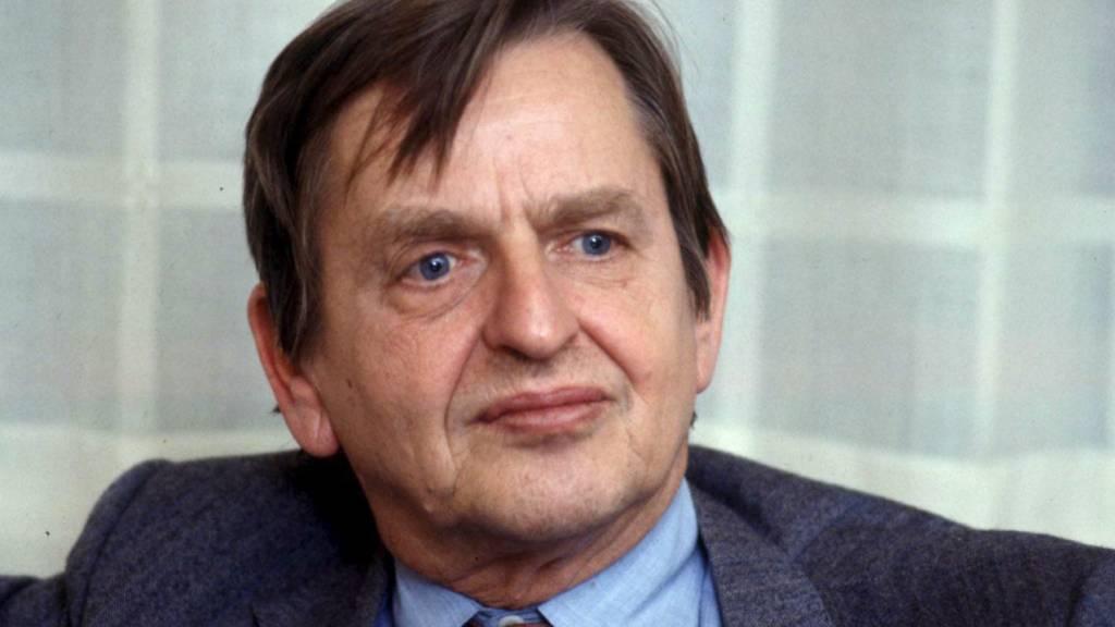 Im Fall des vor 34 Jahren ermordeten schwedischen Premierministers Olof Palme wird heute eine wegweisende Entscheidung bekannt gegeben. (Archivbild)