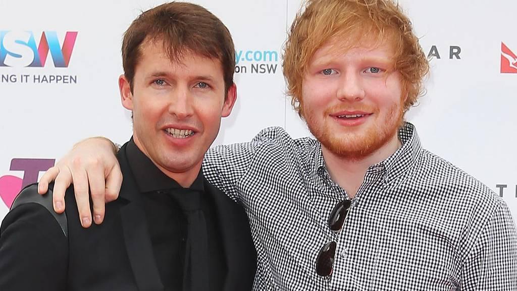 Ed Sheeran: Nimmt er James Blunt mit auf Tour?