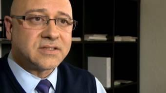 Alain Bersets Anwalt Patrik Eisenhut im Gespräch mit dem Schweizer Radio und Fernsehen.