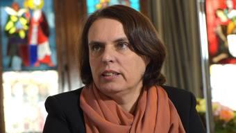 Regierungspräsidentin Elisabeth Ackermann.