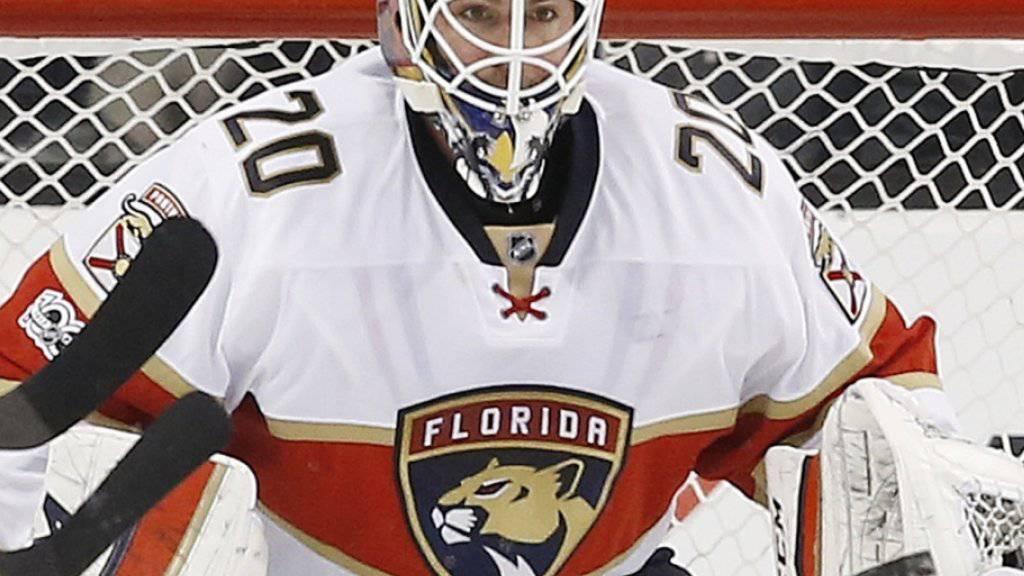 Reto Berra stand zuletzt bei den Florida Panthers in der NHL unter Vertrag