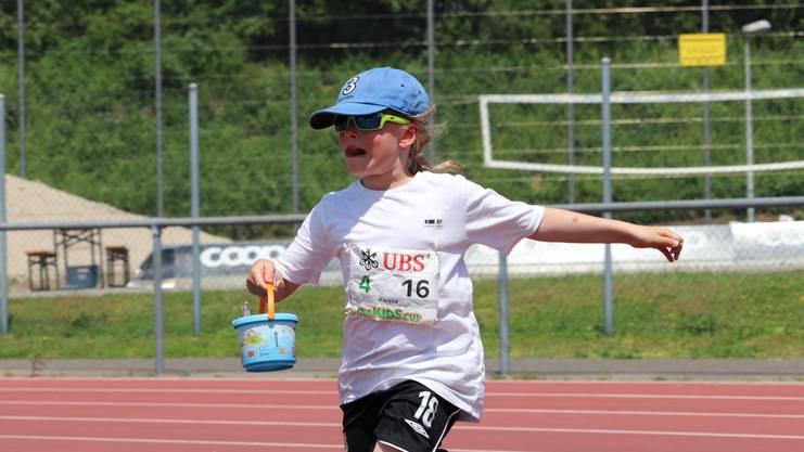 Das Würfelrennen ist eine von elf Disziplinen am Spiel ohne Grenzen.