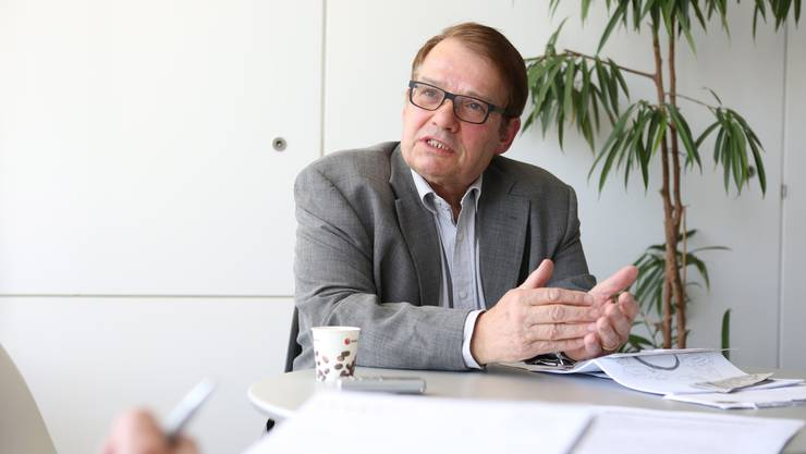 Peter Schmuki kämpft gegen die Todesstrafe.