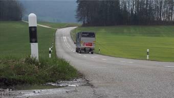 Im SChnitt fahren heute 4000 Fahrzeuge pro Tag über den Kaistenberg.