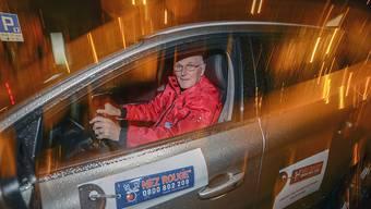Der Heimfahrdienst Nez Rouge hat seit Anfang Dezember über 18'000 Personen nach Hause begleitet, wenn sich diese nicht mehr im Stande fühlten, ihr Auto selbst zu lenken. Das sind 2000 mehr als noch im Vorjahr. (Archivbild)
