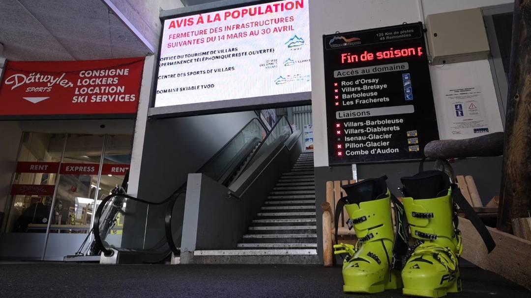 Coronamassnahmen: Saisonende für Skigebiete