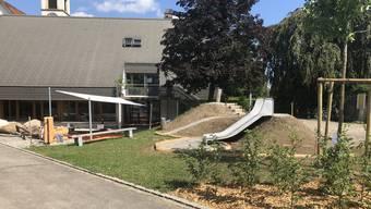Der neue Spielplatz: Spielplatz AAA («Anders Als Andere») in Rupperswil.