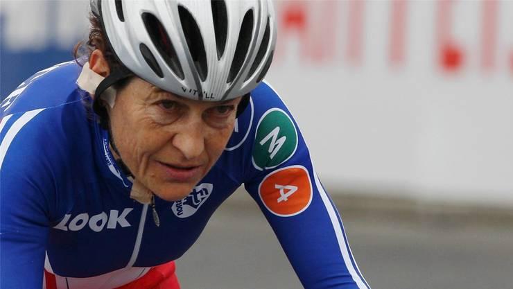 55-jährig, aber kein bisschen müde: Tagessiegerin Jeannie Longo.