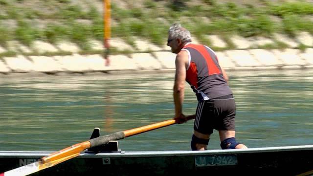 Engpass auf der Aare: 400 Schwimmer mehr übers Wochenende