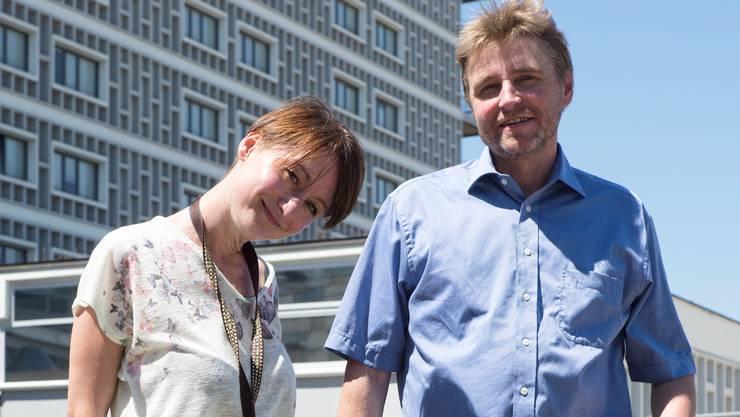 Angelina Koch und Peter Jossi vom Stadtteilsekretariat Basel-West fragten im Quartier nach.