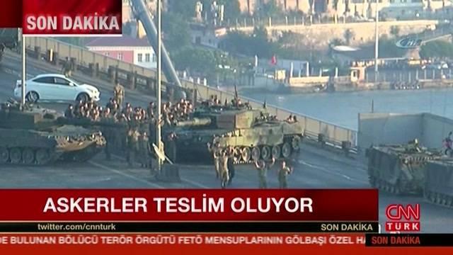 Türkischer Militärputsch gescheitert