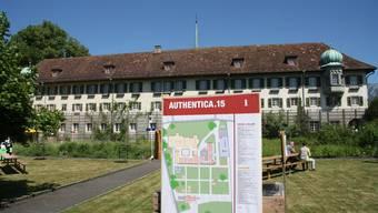 Von 2012 bis 2017 fand die Authentica im Kapuzinerkloster statt - geplant ist die nächste auf Schloss Waldegg.