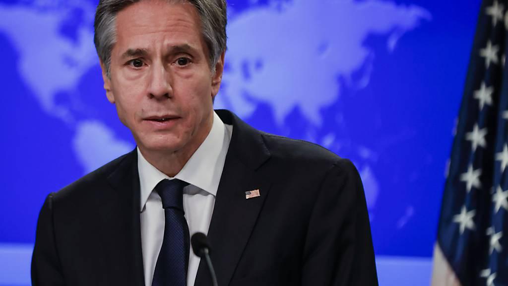 Neuer Aussenminister Blinken: USA überprüfen Abkommen mit Taliban