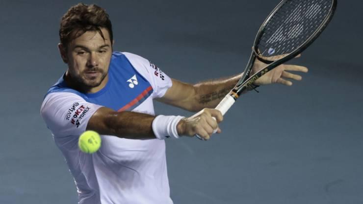 Stan Wawrinka scheitert in Acapulco in den Viertelfinals an Grigor Dimitrov