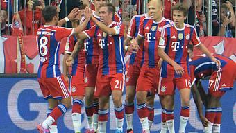Standesgemässer Auftaktsieg für Bayern München