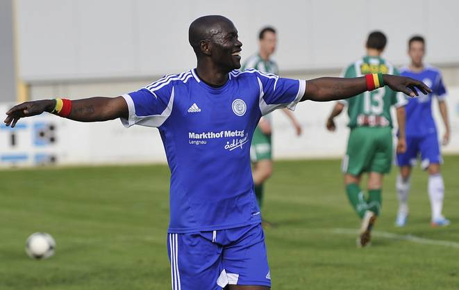 Joe Tex Frimpong beim FC Grenchen