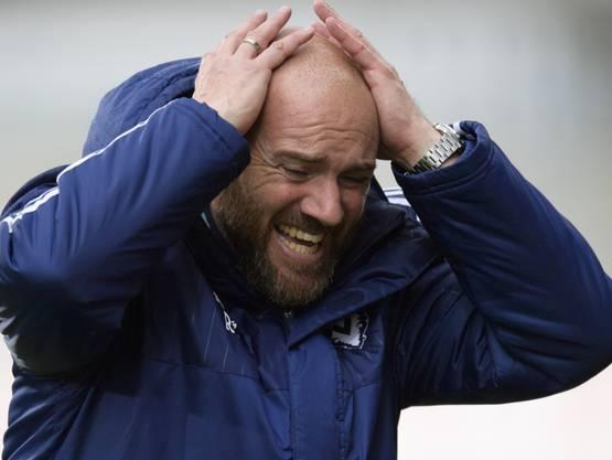 «Der Fehler des Schiedsrichters und seines Assistenten kostet uns vielleicht den Platz in der Super League.»