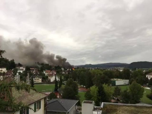 Brand in Zofingen am 31.08.2017