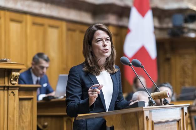 FDP Präsidentin Petra Gössi, FDP-SZ,