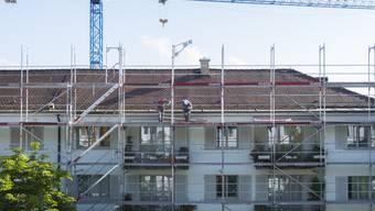 Für den Immobilienkonzern PSP Swiss Property war 2019 ein gutes Jahr: eine Baustelle in Zürich (Symolbild).