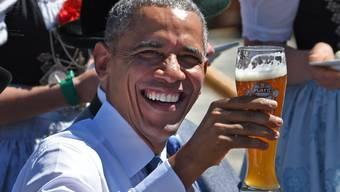 Empfang für Barack Obama im bayerischen Krün