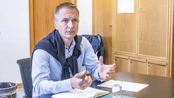 Gibt sein Amt ab: Christian Schlatter.