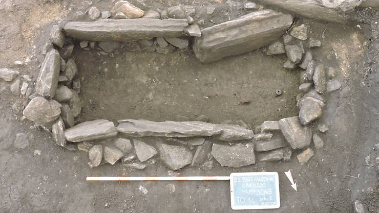 Rund dreissig Gräber aus dem vierten Jahrhundert nach Christus wurden auf der Baustelle gefunden.