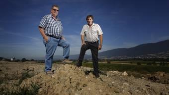 Auf der Deponie Leuzigen wurden hunderttausende Kubikmeter abgelagert