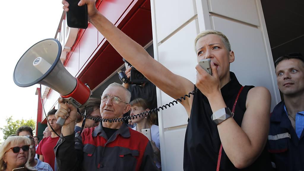 Oppositionelle Maria Kolesnikowa entführt