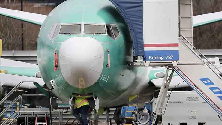 Boeing hat neue Probleme mit seinem Krisenjet 737 Max. (Symbolbild)