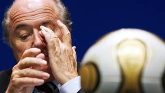 Joseph Blatter soll suspendiert werden.