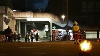 47 Kräfte der Feuerwehr Raurica waren vor Ort. Fotos: Facebook