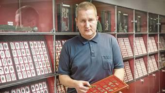 Patrick Huber führt sein Geschäft schon seit 28 Jahren.