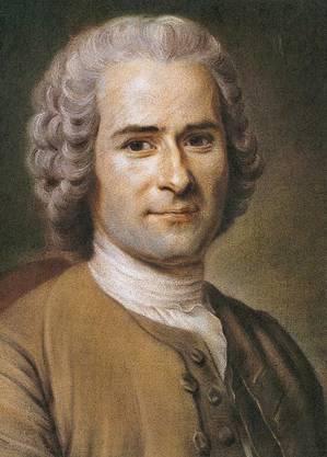 Der Genfer Philosoph Jean-Jacques Rousseau glaubte, dass der Mensch ohne den Einfluss der Zivilisation von Natur aus gut sei.