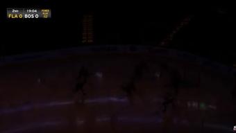 Plötzlich gehen die Lichter aus im TD Garden