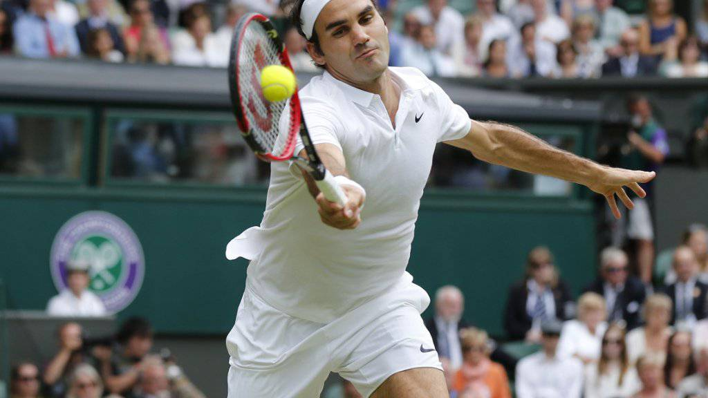 Roger Federer kehrt 178 Tage nach seinem bisher letzten Spiel in Wimbledon zurück