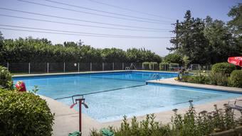 Mit Schwimmen ist dieses Jahr nichts in Villnachern.