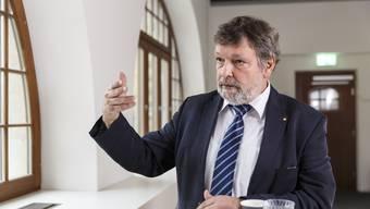 Finanzdirektor Roland Heim (CVP) hatte 2018 nicht nur wegen der Steuervorlage viel zu tun. Als Landammann reiste der Stadtsolothurner auch durch den Kanton und vertrat die Regierung an unterschiedlichsten Anlässen.