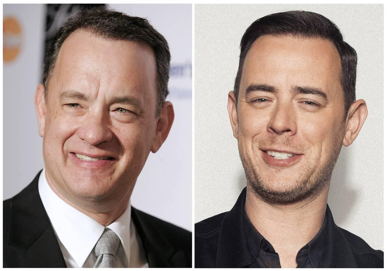 Tom und Colin Hanks (© Keystone)