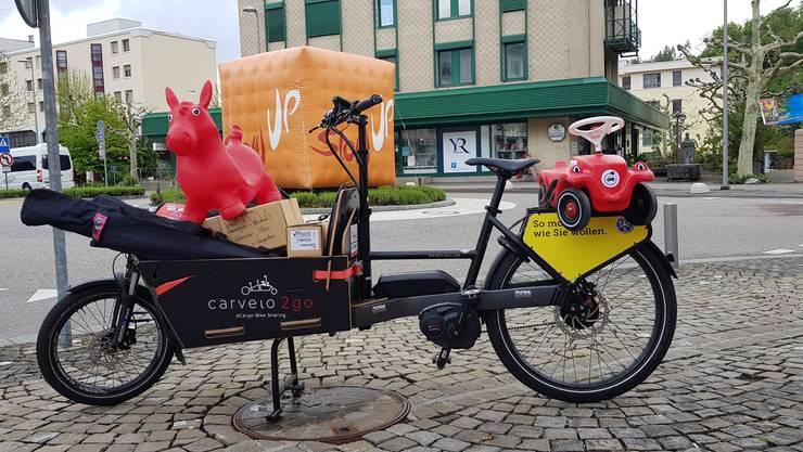 Lastenrad von Carvelo2go