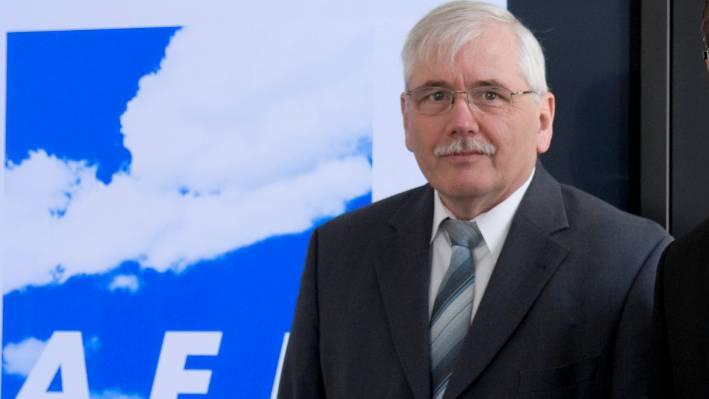 AEK- Präsident Ulrich Bucher
