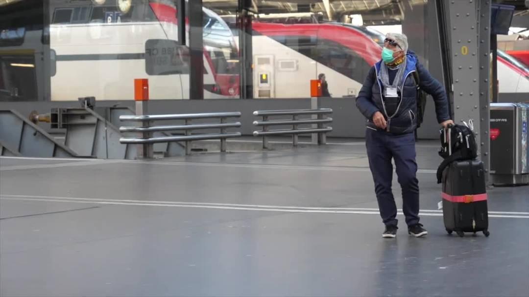 VIDEO - Ab Montag weniger Züge auf mehreren Fernverkehrslinien