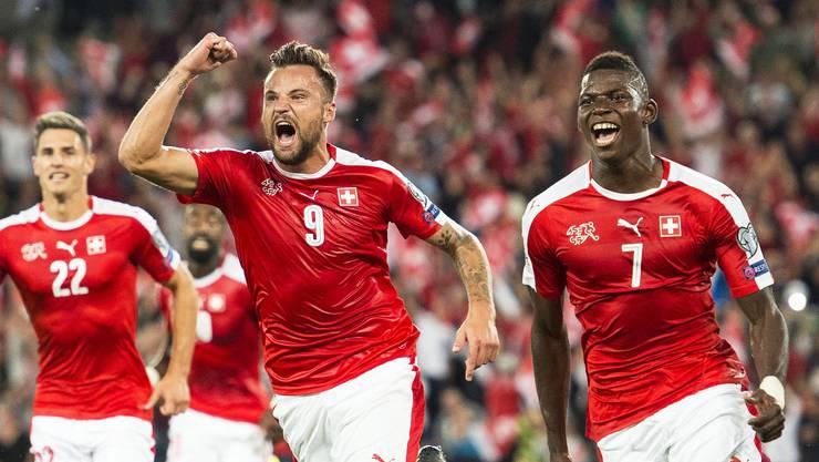 Die Schweizer überzeugen gegen Portugal.