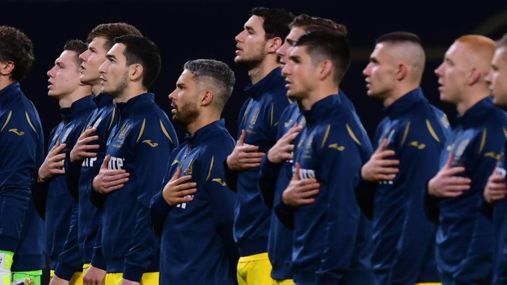 Die Ukrainer standen am Samstag in Leipzig im Einsatz; ob sie in Luzern spielen dürfen, entscheidet der Kantonsarzt