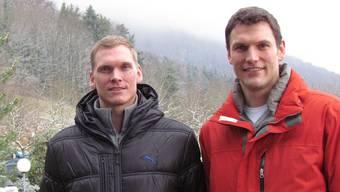 Daniel (links) und Michael Bossart. (ake)