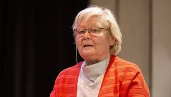 Heidemarie Busch kämpft schon lange für eine verkehrsberuhigte Spitalstrasse.