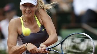 Maria Scharapowa steht im Final der French Open
