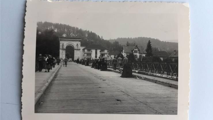 Die Kurbeln für das Verschieben der Brücke sind gesetzt.