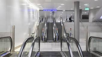 Gespenstische Leere am Hauptbahnhof in Zürich. (Archivbild)
